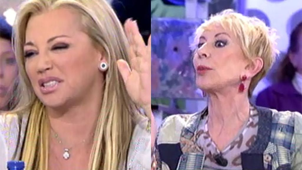 "Belén Esteban, a Karmele Marchante: ""Eres tonta y fea, las dos cosas"""