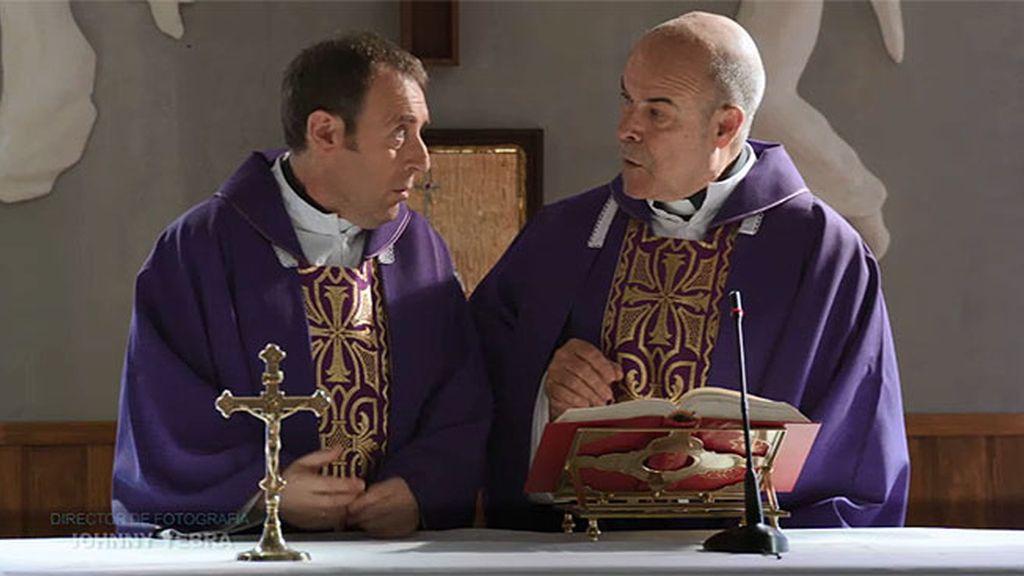 Avance exclusivo: El padre Ángel tiene que oficiar su primer funeral