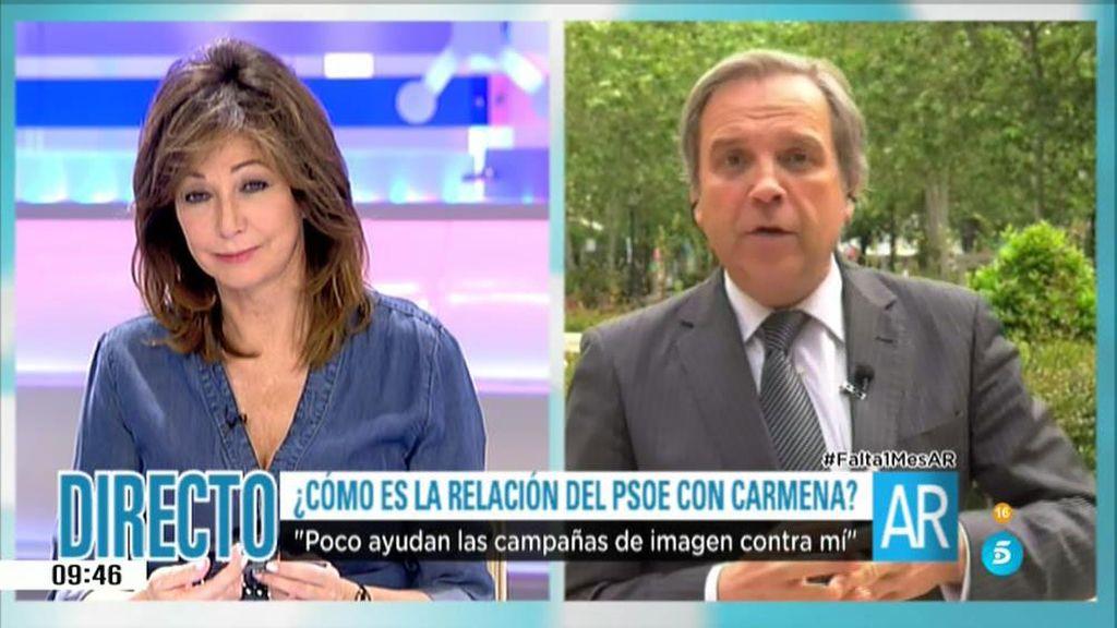 La entrevista íntegra a Antonio M. Carmona