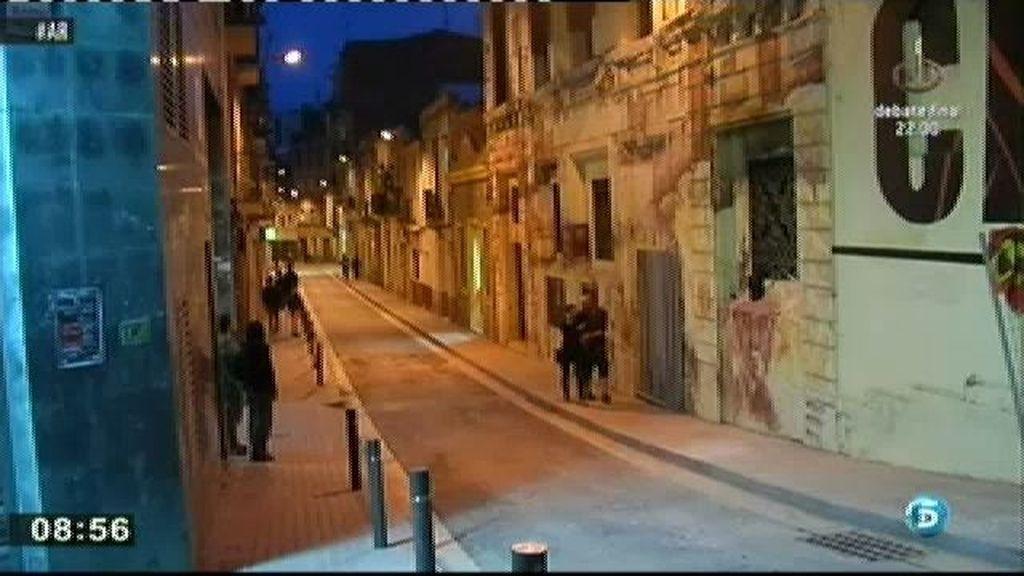 Reina calma en el barrio barcelonés de Sants