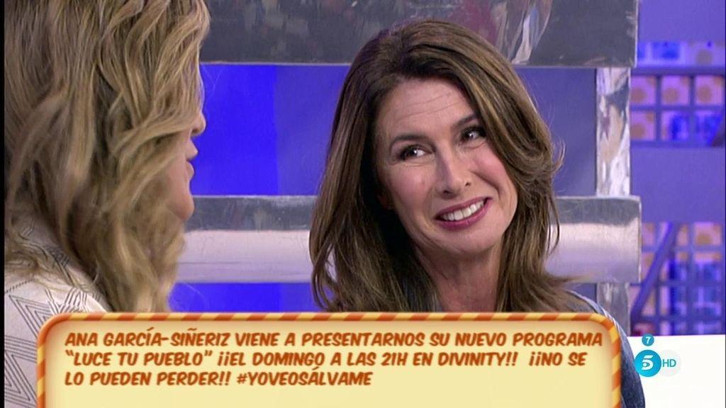 Ana García-Siñeriz vuelve a la televisión para presentar 'Luce tu pueblo' en Divinity