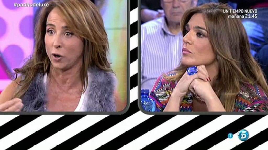 """María Patiño, a Raquel: """"Me da vergüenza lo que estás defendiendo en televisión"""""""