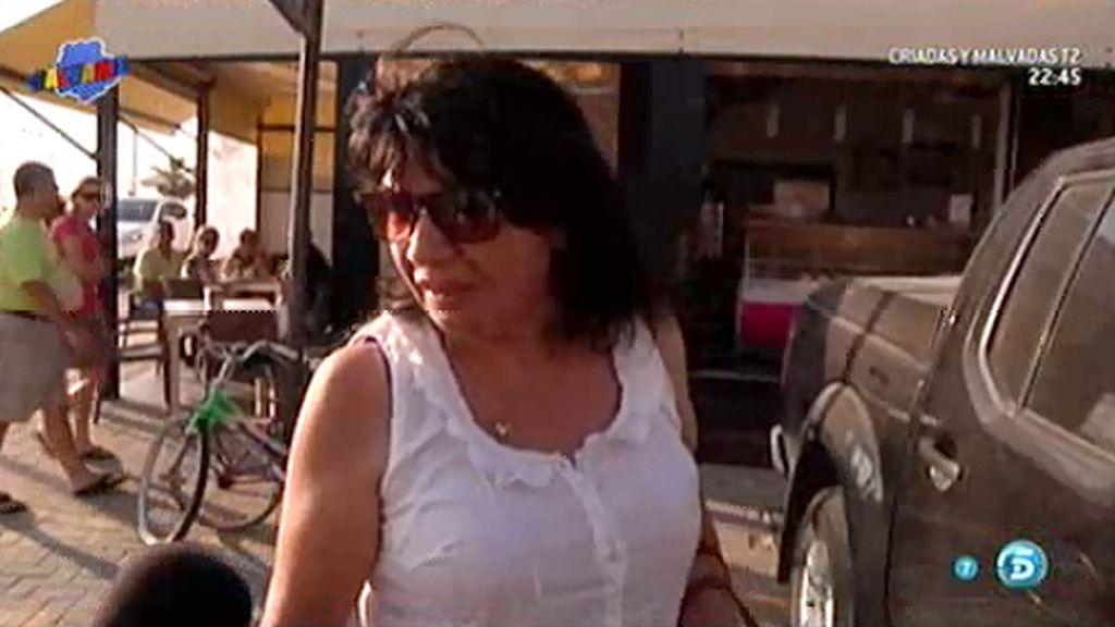 El enfado de Jacqueline, amiga de Amador Mohedano, con la prensa