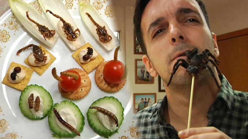 Marc viaja hasta Nueva Jersey para probar los insectos más deliciosos de una granja
