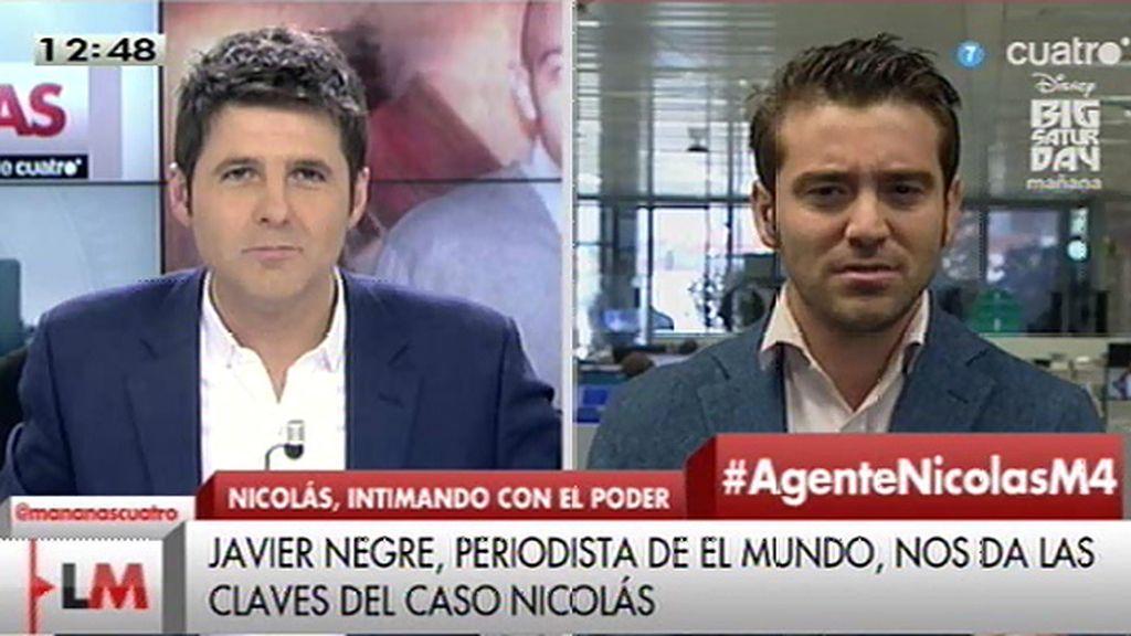 """J. Negre, sobre Fco. Nicolás: """"El niño es una bomba de relojería para el PP"""""""