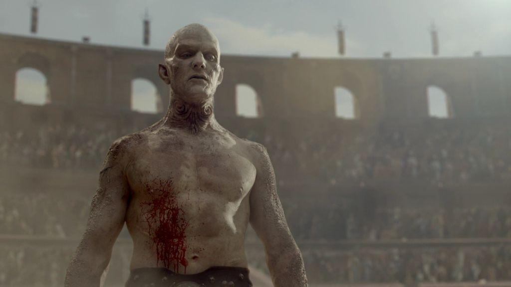 El profesor Setrakian cuenta la historia de Quinlan, el gladiador bárbaro