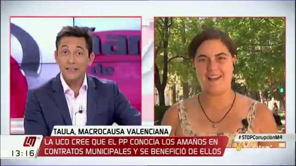 """Loreto Ochando: """"Es imposible saber la cantidad de dinero que se ha robado en Valencia"""""""