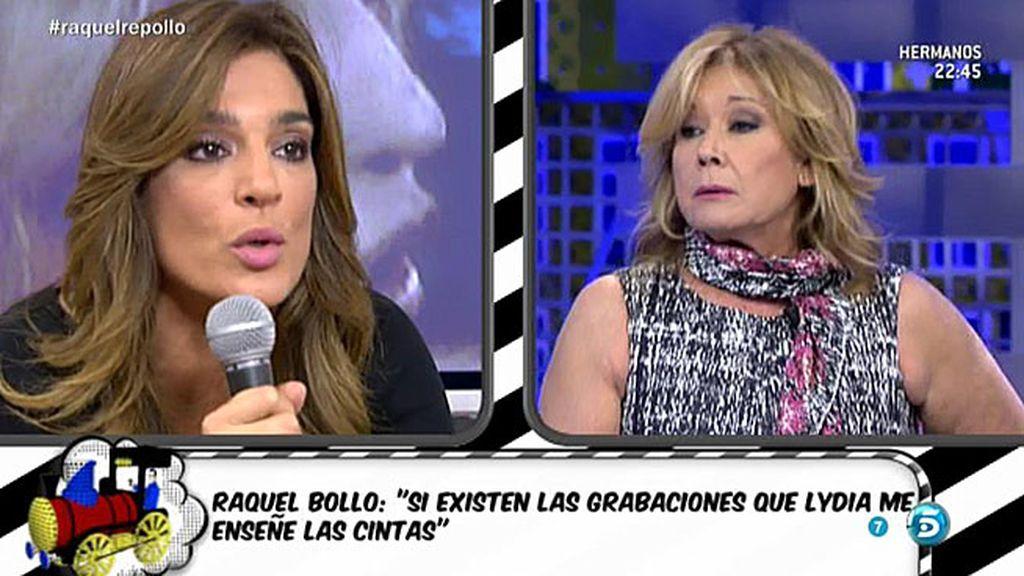 """Raquel Bollo, a Mila: """"La historia no va contigo, va con Lydia, así que no te metas"""""""