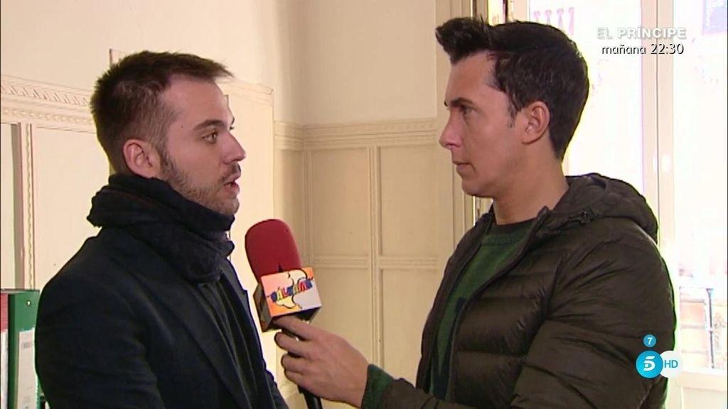 """Saúl Ortiz: """"Estoy indignado con Belén Esteban porque está haciendo una utilización extrema de los medios"""""""