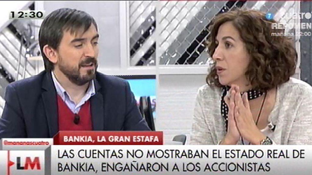 """I. Lozano (UPyD): """"Se trata de una estafa diseñada y ejecutada desde las instituciones"""""""