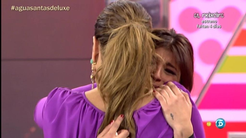 Raquel Bollo y Aguasantas se reencuentran entre abrazos y lágrimas