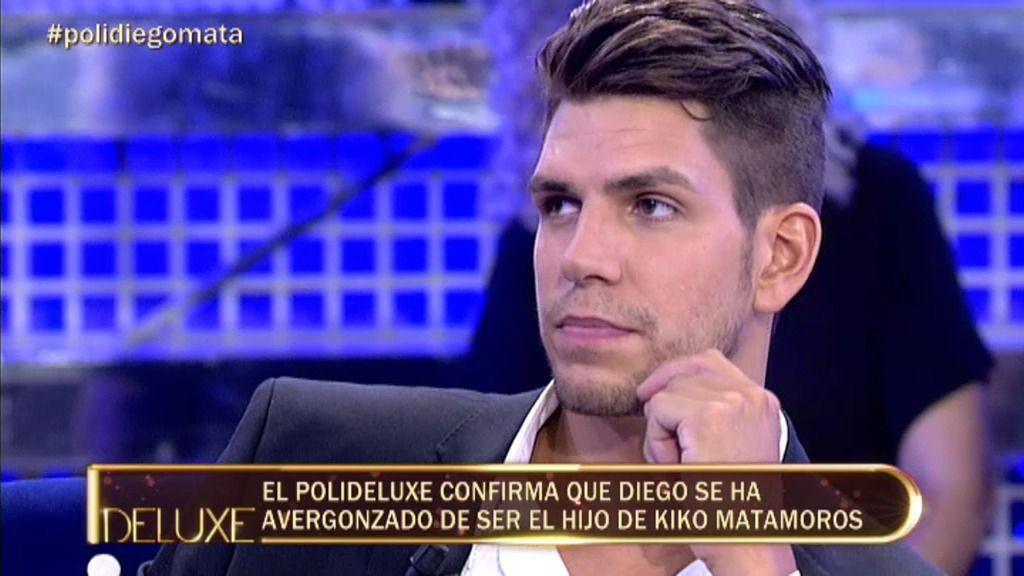 Diego Matamoros se ha avergonzado de ser hijo de Kiko Matamoros