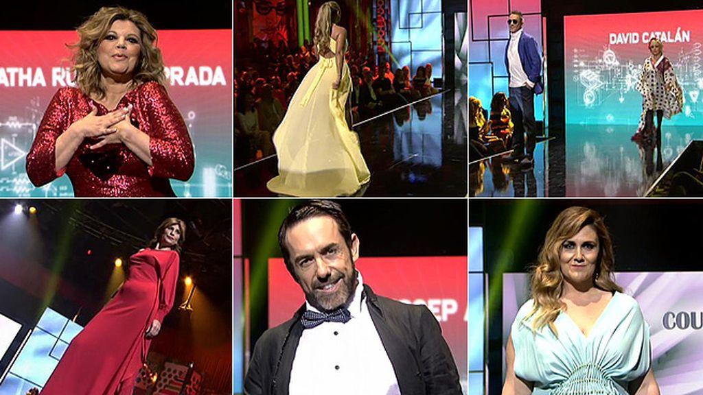 Los espectaculares diseños del desfile 'Moda España' de la 'SLVM Fashion Week'