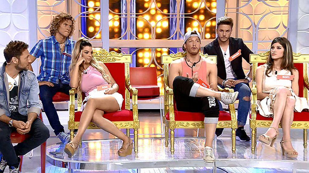 """Emma, a Xavi: """"Siéntate en la silla VIP"""""""