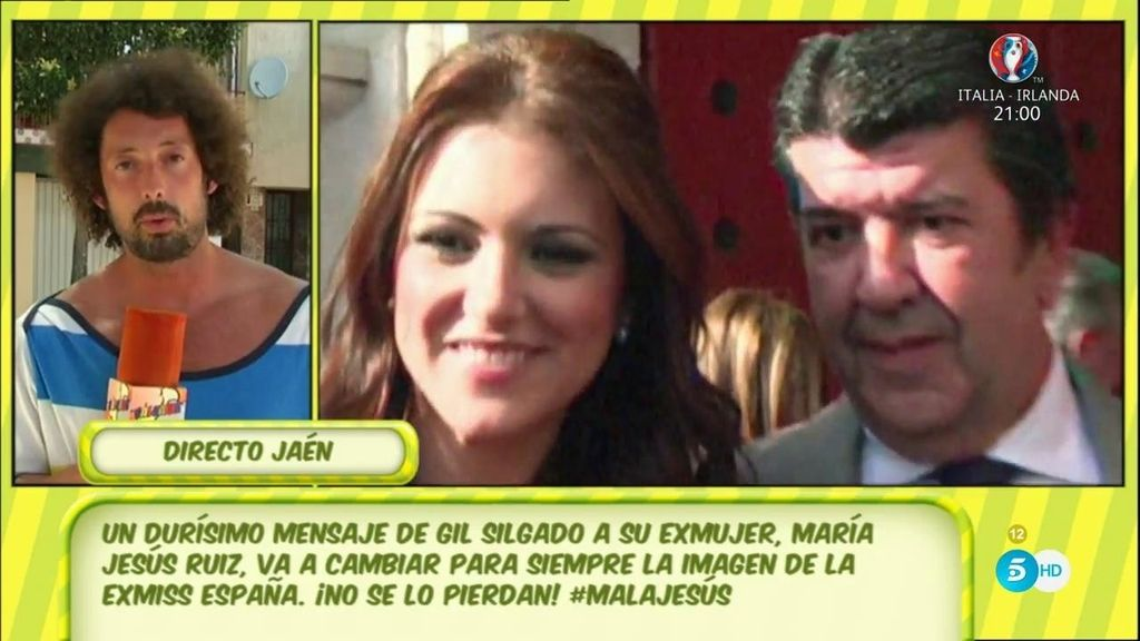 En exclusiva: La dura carta de Gil Silgado a quien era su pareja, Mª Jesús Ruiz