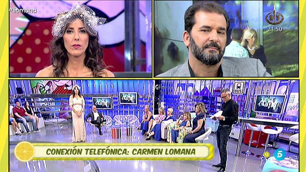 """Carmen Lomana, sobre su hermano Rafa: """"Es él quien nos ha repudiado"""""""