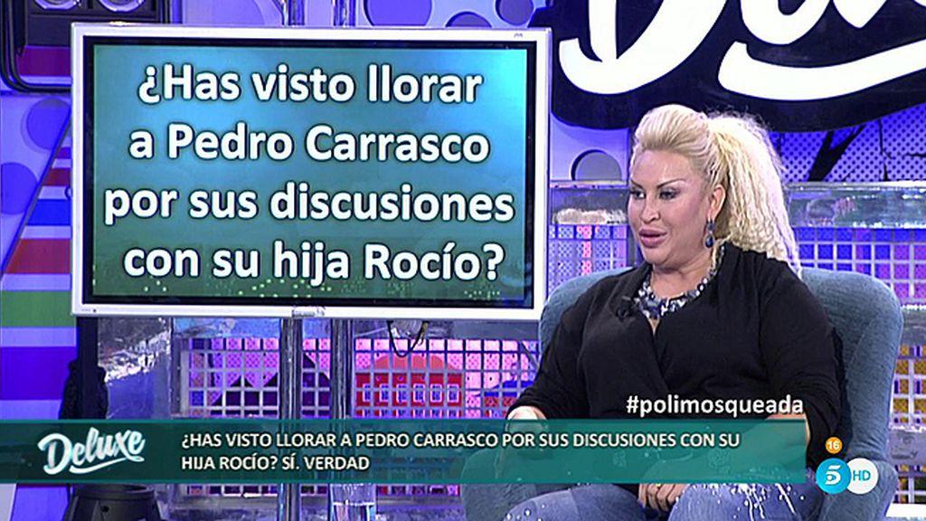 """Raquel Mosquera: """"He visto llorar muchas veces a Pedro por Rocío Carrasco"""""""