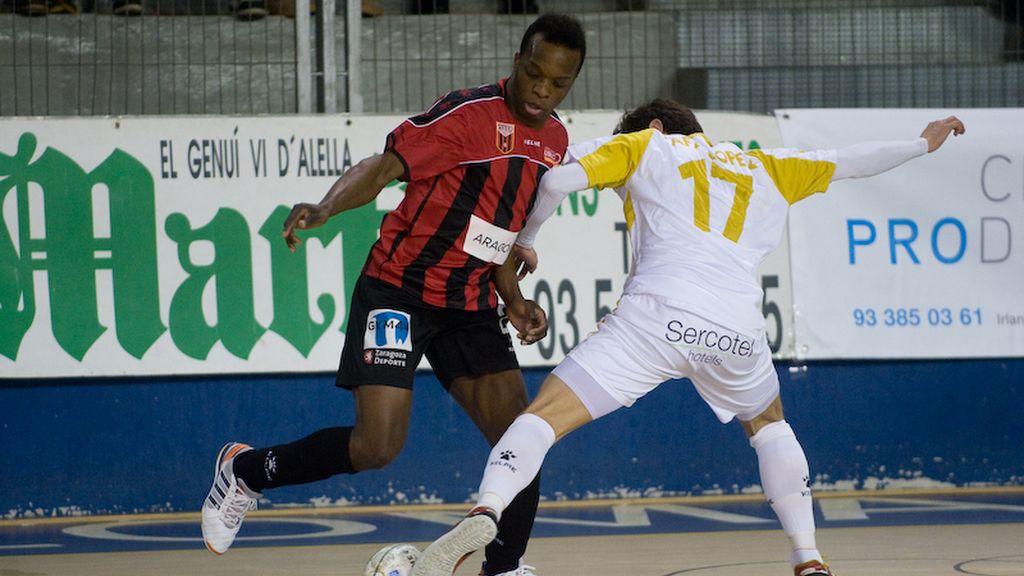 Marfil Santa Coloma consigue ante el Zaragoza su tercera victoria consecutiva (7-2)