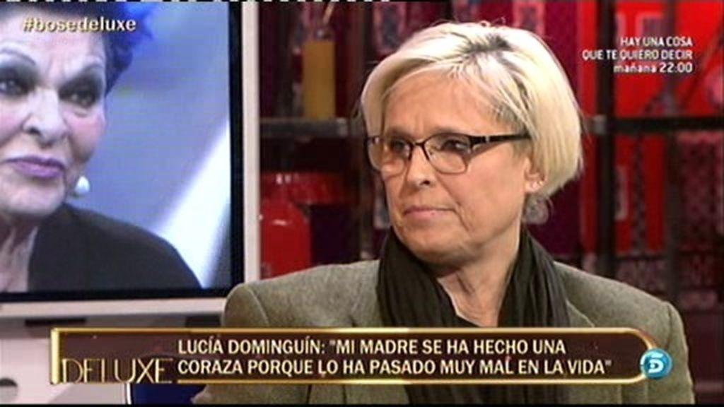 """Lucía Dominguín: """"Mi madre está totalmente absorbida por Miguel Bosé"""""""