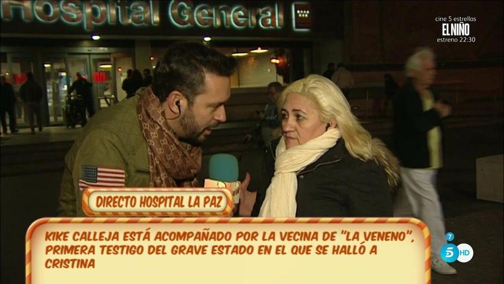 """Ana, amiga de La Veneno: """"Dijo mi nombre y perdió el conocimiento"""""""