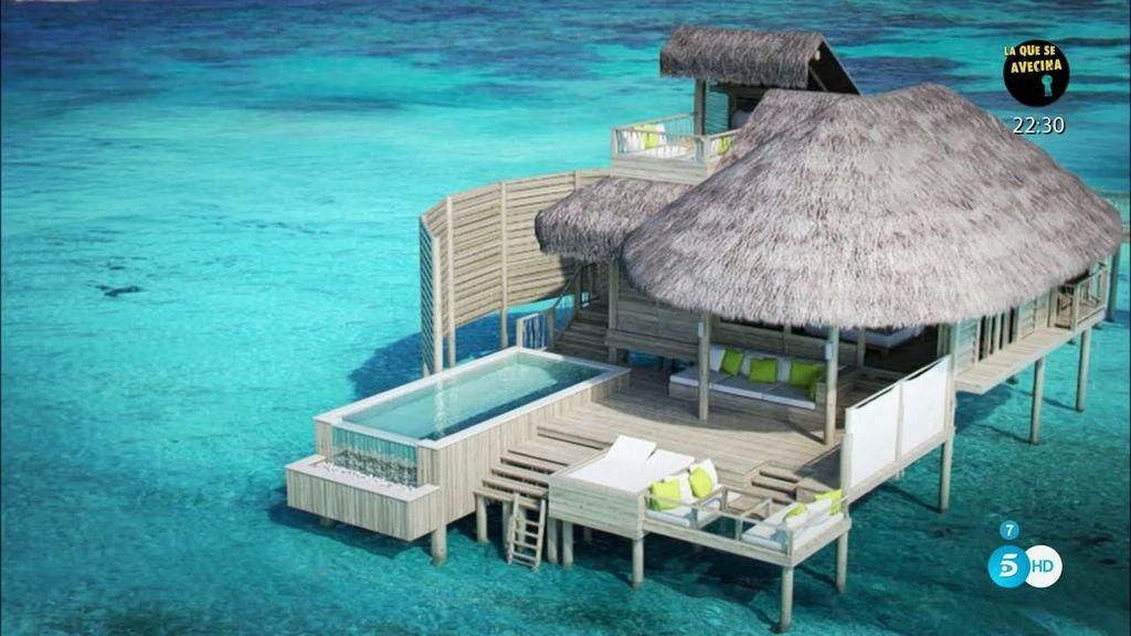 Segundo destino de Kiko e Irene: Las Maldivas, el atolón Laamu