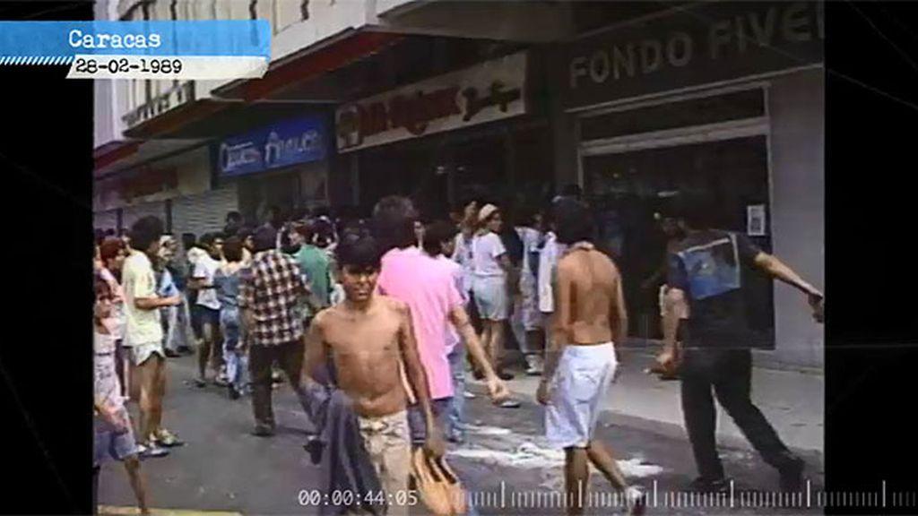 Locura colectiva: las manifestaciones del año 89 en contra del gobierno
