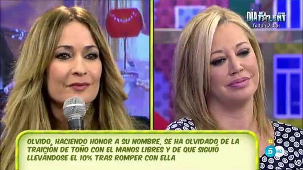 """Hormigos: """"Sanchís nunca me ha hablado mal de Belén, no le desea ningún mal"""""""