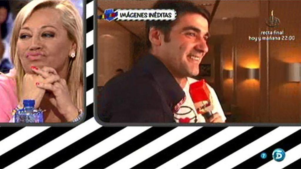 Belén le agradece a Jesulín que se vaya de vacaciones con Andrea... y él guarda silencio