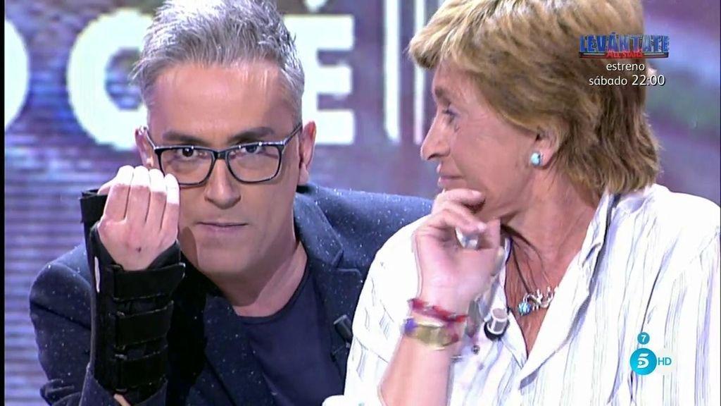 Chelo Gª Cortés, coronada como 'el halcón callejero de Sálvame'