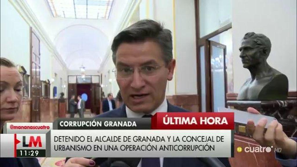 Luis Salvador anuncia la ruptura de Ciudadanos con el PP en Granada