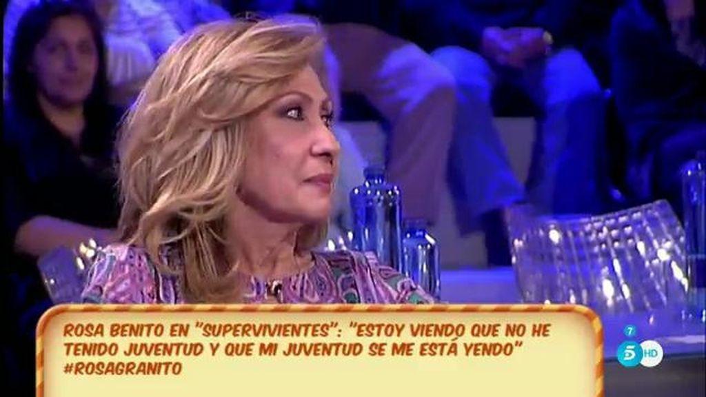 """Rosa Benito: """"Cuando se rompe mi familia me veo muy sola"""""""