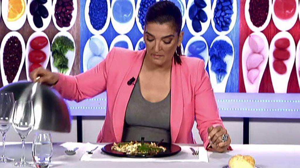 """María Jiménez Latorre, sobre el plato de Espe: """"Con poco me sorprenden"""""""