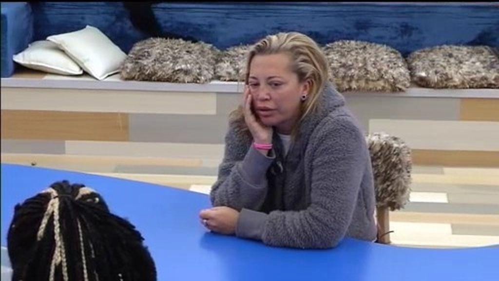 """Belén avisa a Coman: """"Chari ha entrado en la casa con la lección bien aprendida"""""""