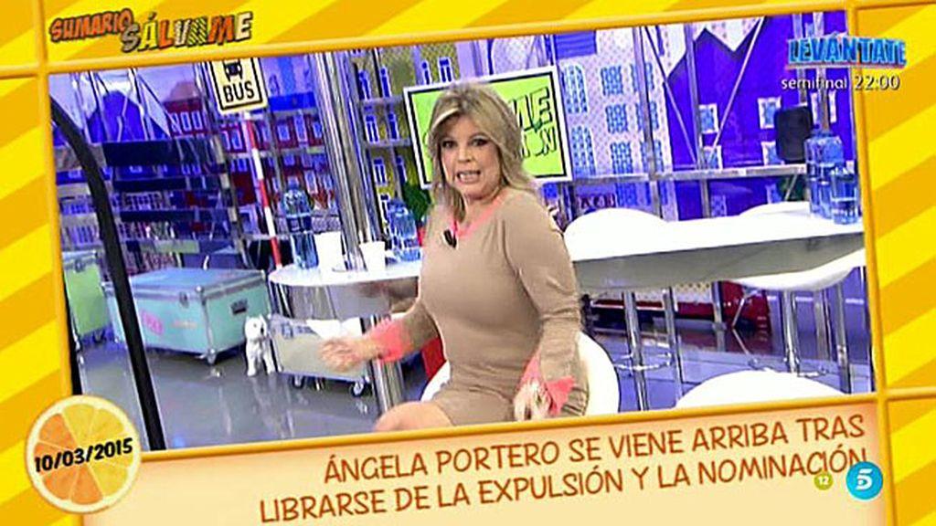 Terelu Campos imita a Ylenia