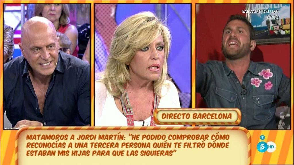 """Jordi Martí, a Lydia: """"Tienes que callarte porque tú sí que informas a los paparazzi"""""""