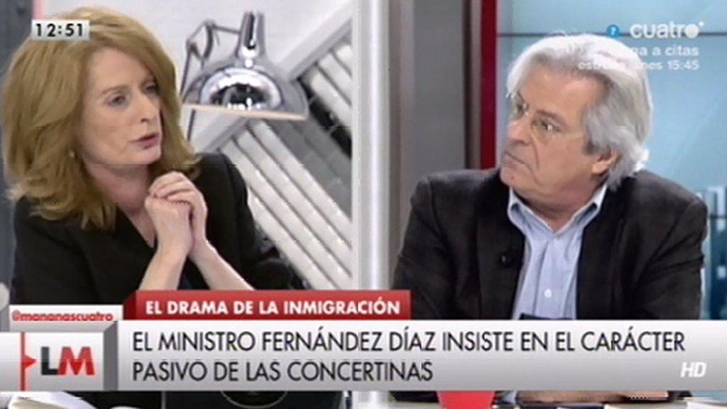 """Javier Nart, a Alicia Gutiérrez: """"Eso que estás diciendo es un rebuzno"""""""