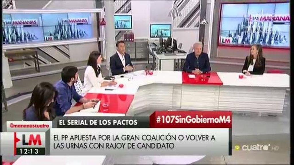 """Emilio del Río (PP), de Sánchez: """"Parece que ha montado un 'Gran Hermano' y nadie sale de la casa hasta que lleguen a un acuerdo"""""""