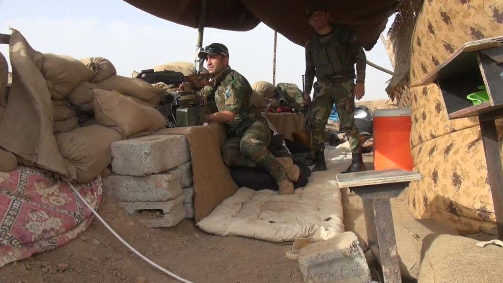 48 horas con milicianos cristianos que luchan contra el DAESH en Irak