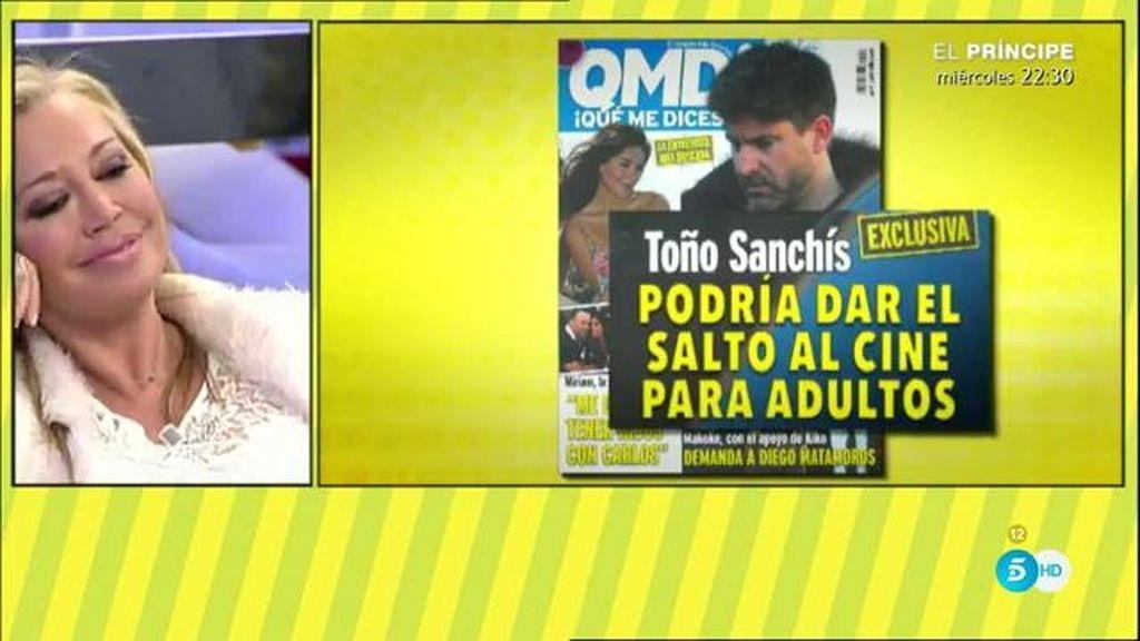 Toño Sanchís podría dedicarse al cine para adultos, según la revista 'QMD'
