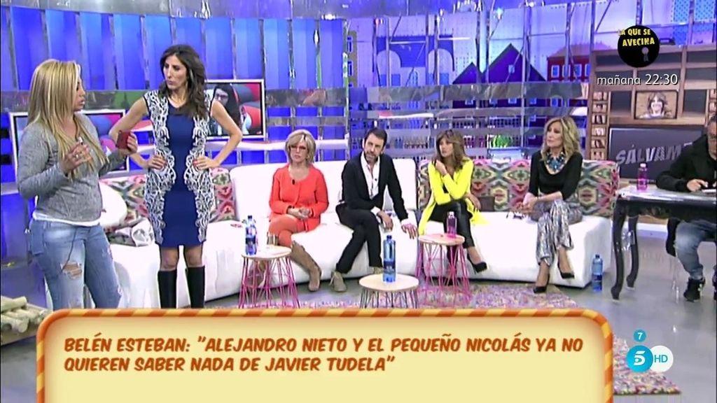 """Belén Esteban: """"Ni Alejandro Nieto ni Fran Nicolás quieren saber nada de Javier Tudela"""""""