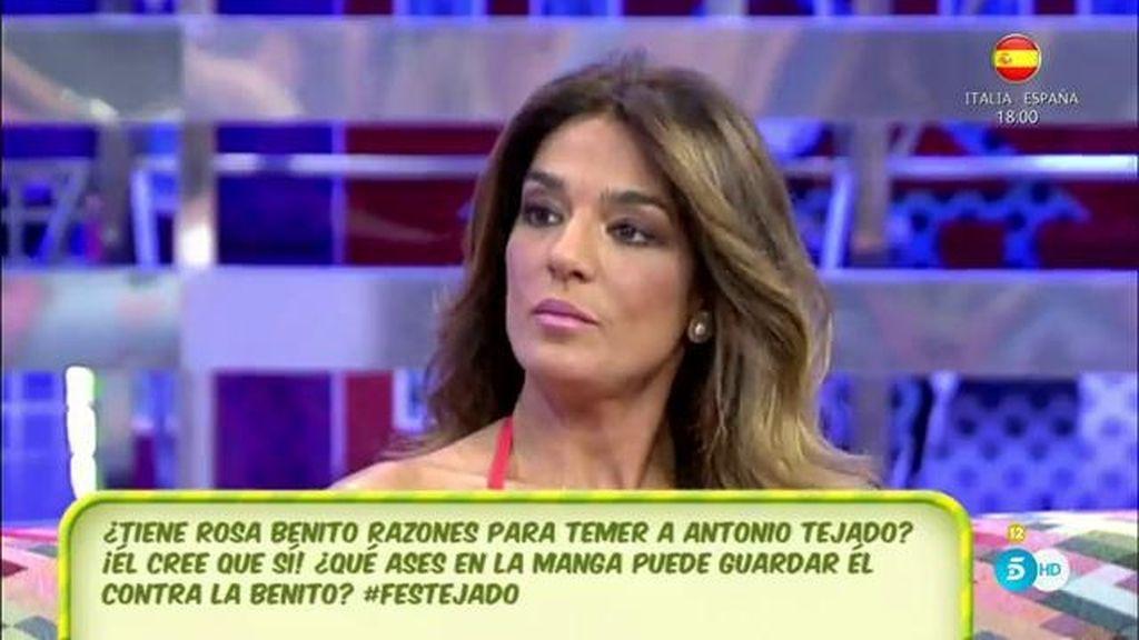 """Raquel Bollo, sobre Antonio Tejado: """"Hizo bastante daño tanto a Rosa como a Chayo"""""""