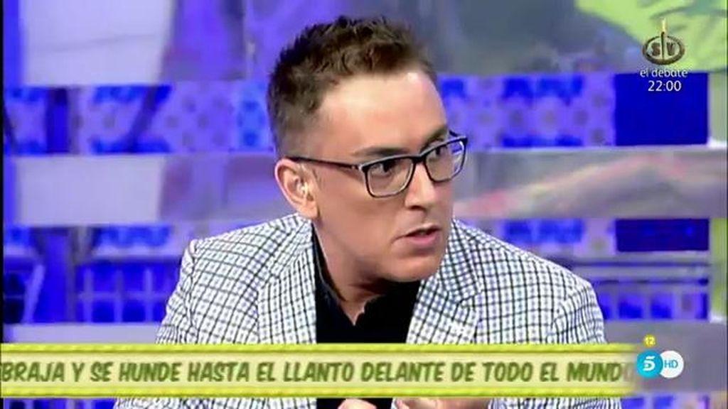 """Kiko Hernández, a Mónica Hoyos: """"Ya te he pillado el juego y no me gusta"""""""