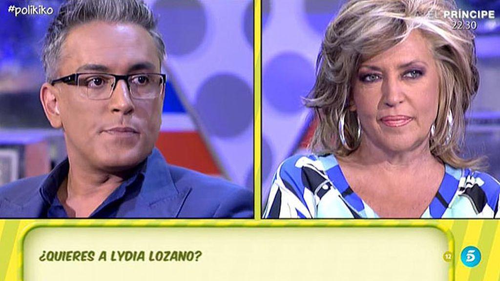 ¿Quiere Kiko Hernández a Lydia Lozano?