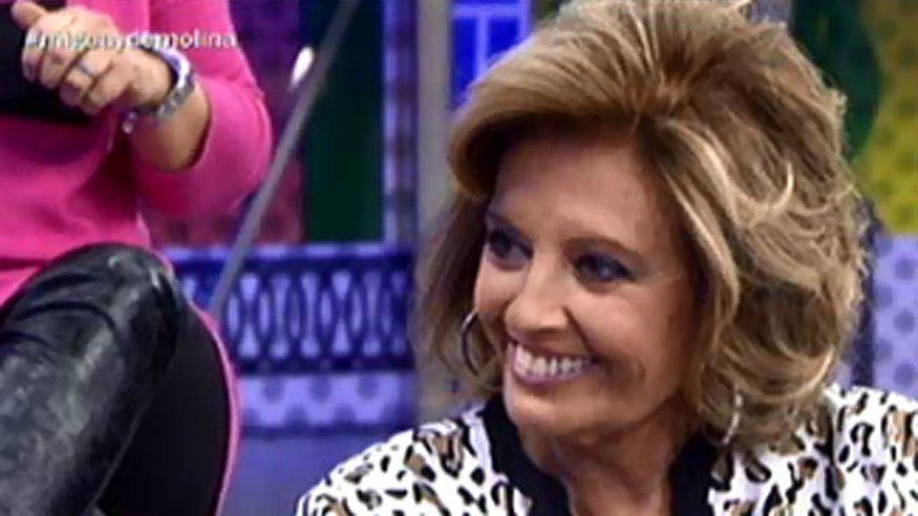 """María Teresa, sobre la primera aparición pública con Edmundo: """"Estaba atacado"""""""
