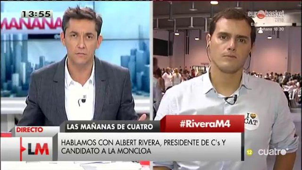 La entrevista con Albert Rivera, online