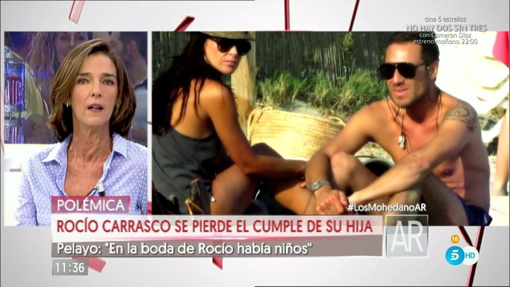 """García Pelayo: """"Rocío le pidió a Antonio David que su hijo estuviera en su boda"""""""