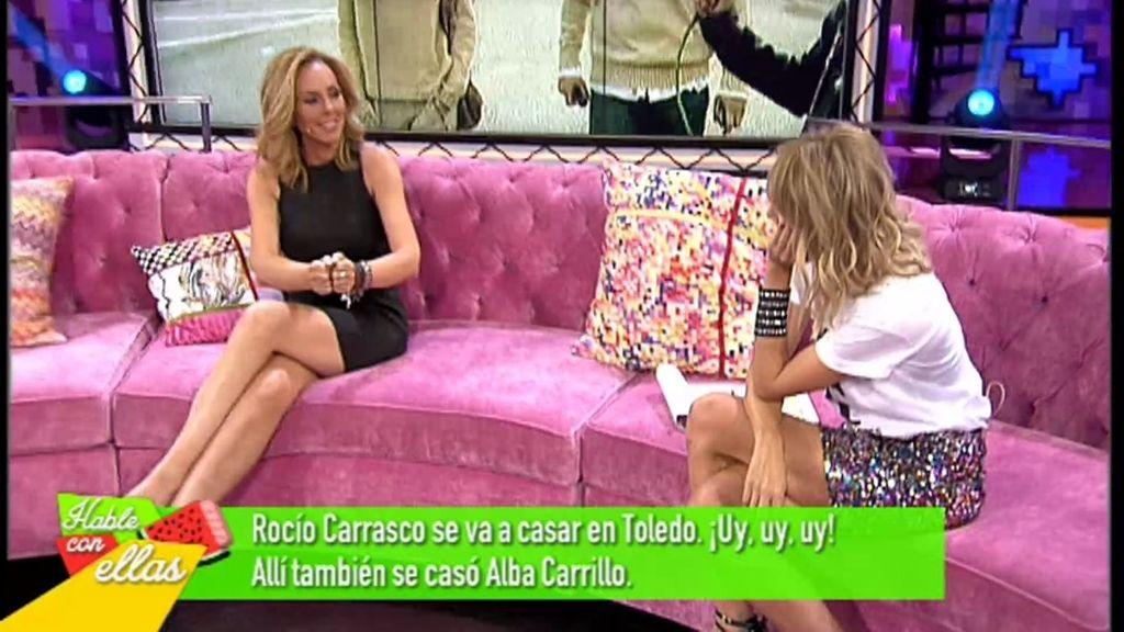 """Alba, a Rocío: """"Eso de que tu boda sea en Toledo... Lo tienes claro, ¿no?"""""""