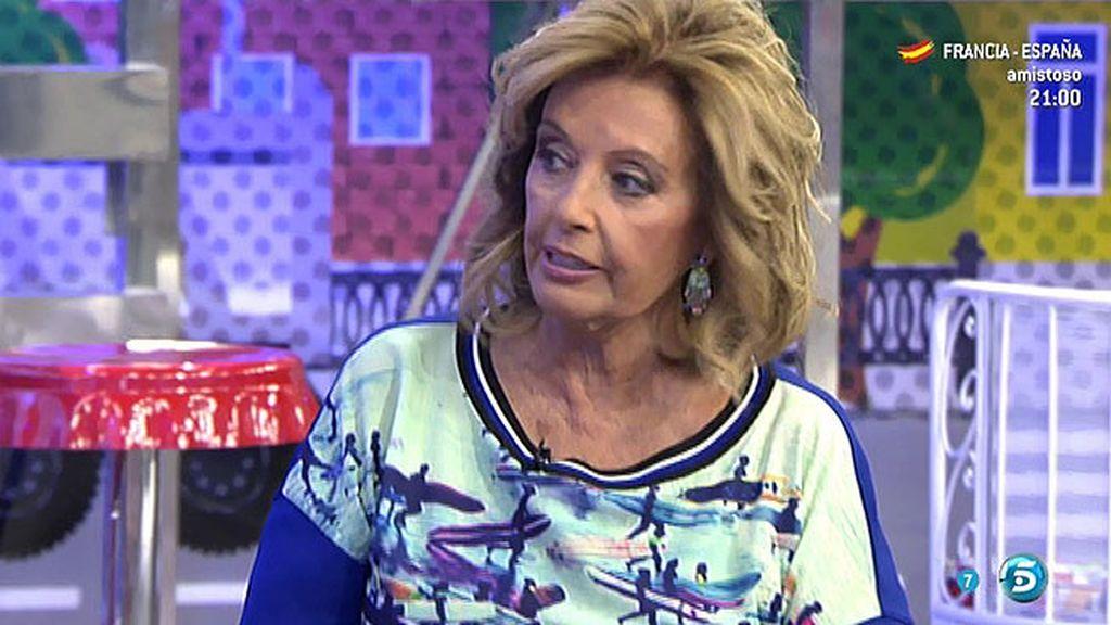 """María Teresa: """"Me fui con un cabreo de mucho cuidado, lo de los 14 años me superó"""""""
