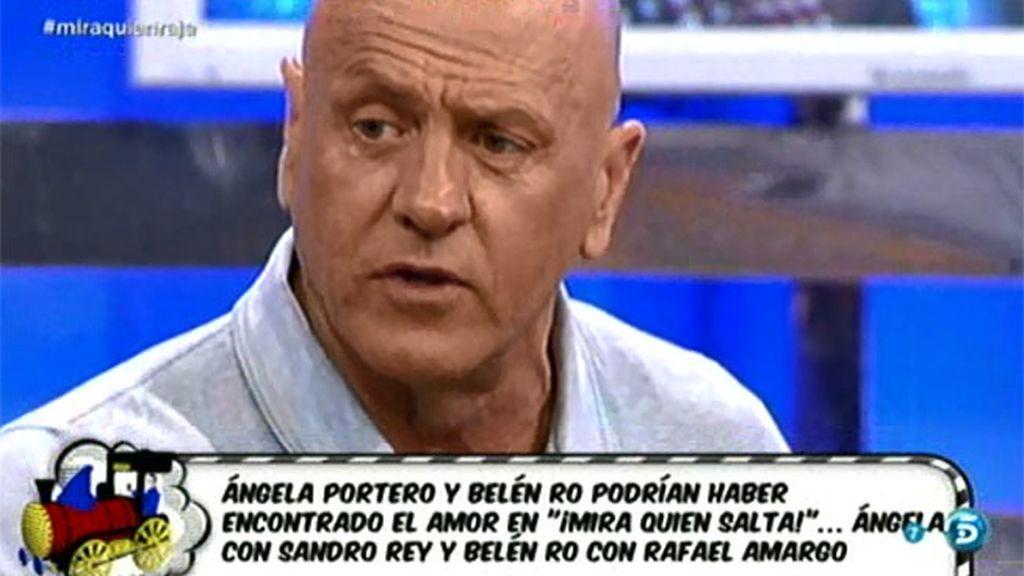 """Matamoros: """"Ángela me ha reconocido que ha mantenido una relación con Sandro Rey"""""""