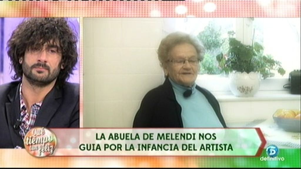 Melendi se emociona con la sorpresa de su abuela Olvido desde Asturias